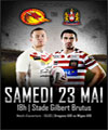 R�servation DRAGONS CATALANS / WIGAN