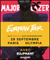 R�servation MAJOR LAZER