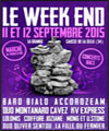 R�servation FESTIVAL LE WEEK END - PASS 2 JOURS