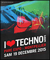 R�servation I LOVE TECHNO EUROPE 2015