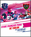 R�servation STADE FRANCAIS PARIS / RC TOULON