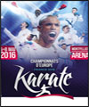 R�servation CHAMPIONNAT D'EUROPE DE KARATE