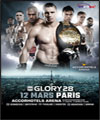 R�servation GLORY 28 PARIS