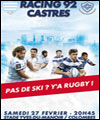 R�servation RACING 92 / CASTRES OLYMPIQUE