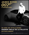 R�servation JAMES BOND 007