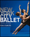 R�servation NEW YORK CITY BALLET