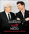 R�servation MICHEL LEGRAND  ET VINCENT NICLO