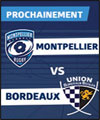 R�servation MONTPELLIER - BORDEAUX BEGLES