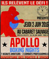 R�servation APOLLO BOXING NIGHTS