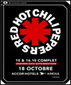 R�servation RED HOT CHILI PEPPERS