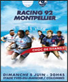 R�servation RACING 92 / MONTPELLIER H.R