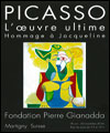 R�servation PICASSO, L'OEUVRE ULTIME