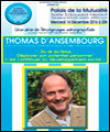 R�servation SOIREE C.N.V - THOMAS D'ANSEMBOURG