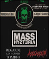 R�servation MASS HYSTERIA - FESTIVAL ECLECTIK