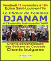 R�servation DJANAM - CHANTS BULGARES