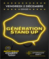 R�servation GENERATION STAND UP
