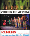 Réservation VOICES OF AFRICA