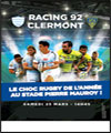 Réservation RACING 92 - CLERMONT