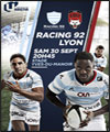 Réservation RACING 92 / LOU RUGBY