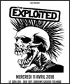 Réservation THE EXPLOITED