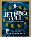 Réservation JETHRO TULL - 50TH ANNIVERSARY TOUR