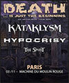 Réservation KATAKLYSM + HYPOCRISY + THE SPIRIT