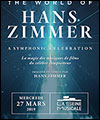 Réservation THE WORLD OF HANS ZIMMER