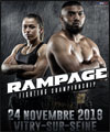Réservation RAMPAGE FIGHTING CHAMPIONSHIP
