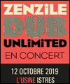 Réservation ZENZILE DUB UNLIMITED