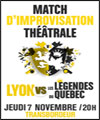 Réservation LYON VS LEGENDES DU QUEBEC