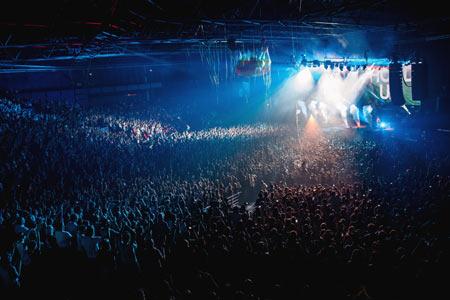 salle concert a cote zenith paris