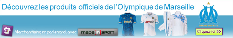 merch om olympique marseille