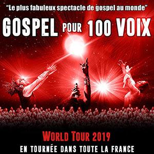 Plus d'infos sur l'évènement GOSPEL POUR 100 VOIX WORLD TOUR