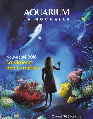 AQUARIUM LA ROCHELLE Aquarium de la Rochelle événement