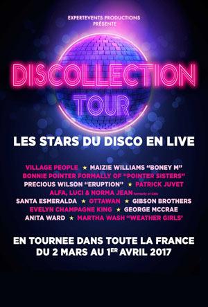 DISCOLLECTION TOUR 2016 ZENITH AMIENS concert de variété internationale