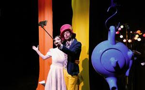ALICE AU PAYS DES MERVEILLES ACTE 2 THEATRE pièce de théâtre pour enfant