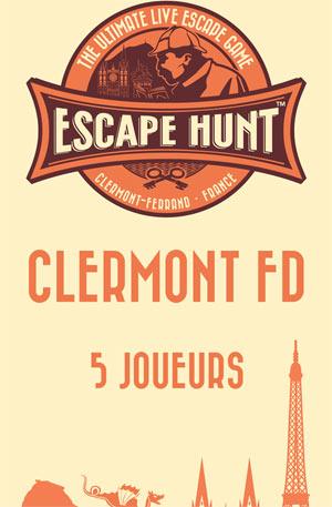 ESCAPE GAME CLERMONT FD-5 PERSONNES ESCAPE HUNT EXPERIENCE CLERMONT-FD activité, loisir