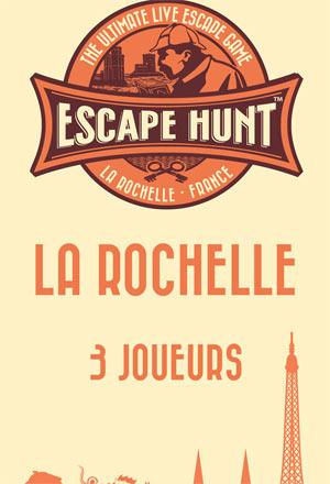 ESCAPE GAME LA ROCHELLE-3 PERSONNES ESCAPE HUNT EXPERIENCE LA ROCHELLE activité, loisir