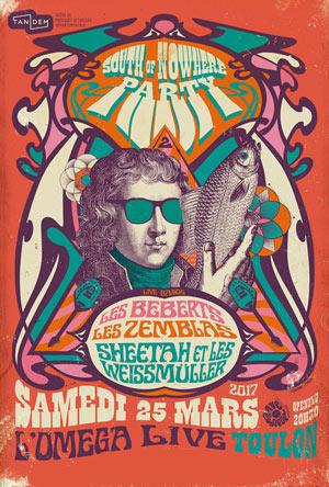 SOUTH OF NOWHERE #2 OMEGA LIVE concert de rock