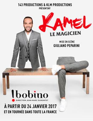Plus d'infos sur l'évènement KAMEL LE MAGICIEN