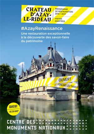 Visite De Monument - CHATEAU D\'AZAY-LE-RIDEAU à Azay le Rideau 37 ...