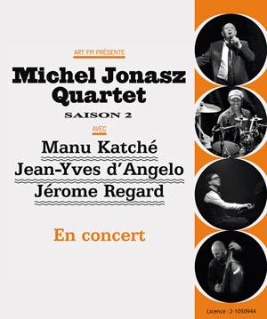 Plus d'infos sur l'évènement MICHEL JONASZ QUARTET SAISON 2