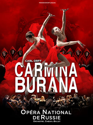 CARMINA BURANA Zénith Arena De Lille spectacle de danse classique
