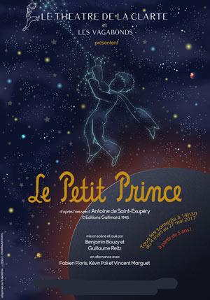 LE PETIT PRINCE Théâtre de La Clarté pièce de théâtre pour enfant