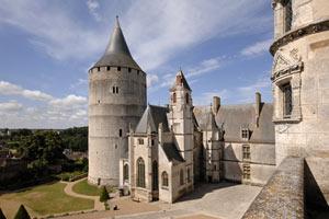 CHÂTEAU DE CHÂTEAUDUN Château de Châteaudun visite de monument