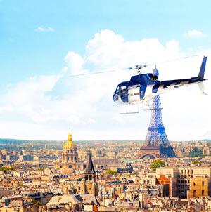 VOL DECOUVERTE EN HELICOPTERE HELIPORT DE PARIS activité, loisir