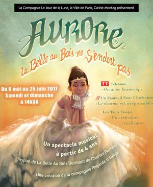 AURORE TH. DE VERDURE JARDIN SHAKESPEARE pièce de théâtre pour enfant
