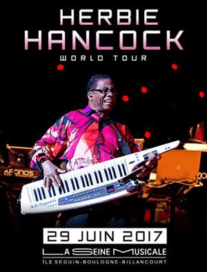HERBIE HANCOCK La Seine Musicale concert de jazz
