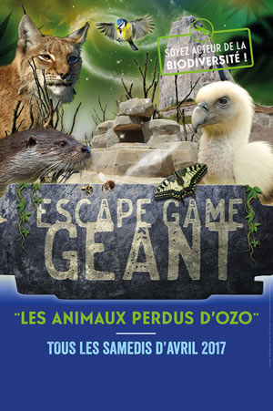 VISITE + ESCAPE GAME GEANT PARC ZOOLOGIQUE DE PARIS visite de parc animalier