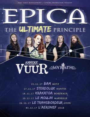 Plus d'infos sur l'évènement THE ULTIMATE PRINCIPLE TOUR